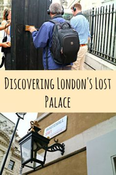 The Lost Palace of London is an audio tour that takes you around a palace which has now disolved into time, explore and find what once was London Places, Things To Do In London, Above And Beyond, Tour Guide, Time Travel, Inventions, Palace, Lost, The Incredibles