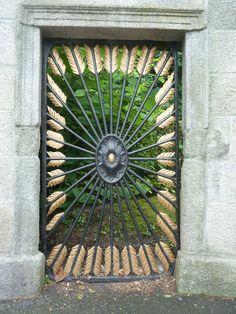 Milltown Park Detail- Entrance Gate.