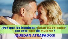"""Por qué los hombres """"duran más tiempo"""" con este tipo de mujeres ¡Quedan atrapados! http://www.elartedesabervivir.com/index.php?content=articulo&id=344"""