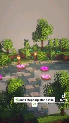 Minecraft Garden, Minecraft Farm, Minecraft Mansion, Easy Minecraft Houses, Minecraft House Tutorials, Minecraft Plans, Minecraft House Designs, Minecraft Tutorial, Minecraft Blueprints