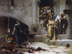 La Leyenda de la Campana de Huesca, aparece por primera vez en la Crónica de San Juan de la Peña (siglo XIV)..jpg