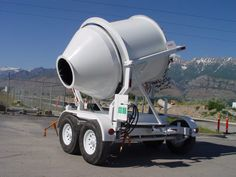 Compare Mix Right portable concrete mixers by Right Manufacturing Systems. Farm Tools And Equipment, Heavy Equipment, International Travelall, Mixer Truck, Dump Trailers, Industrial Engineering, Concrete Mixers, Homemade Tools, Construction