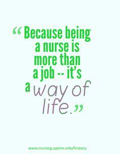 """Being a nurse is more than just a job -- it's a way of life. Medical Humor, Nurse Humor, Nurse Education, Trauma Nurse, Hospital Humor, Nurse Love, Respiratory Therapy, Acute Care, Nursing Career"