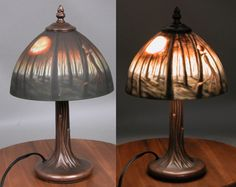 Nightmare Before Christmas - Tiffany-Style Lamp