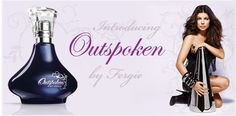 Outspoken by Fergie EDP 50ml  Features a bold blend of iced berries, contrasted with ultra-feminine tuberose absolute and daring black leather. Floral, fruity  visit www.facebook.com/avonhomedelivery to place an order for a FREE sample.