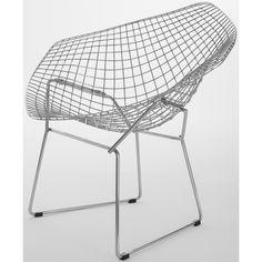 Bertoia Wire Diamond Chair