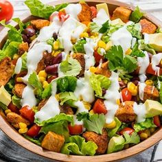 Chicken Taco Salad w