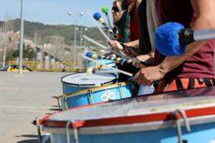Aprende percusión afro brasileña en Barcelona con Ketubara