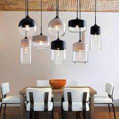 Glass Chandelier, Pendant Lighting, Art Deco Home, Dining Room Lighting, Design Moderne, Modern Minimalist, Decoration, Modern Lighting, Indoor