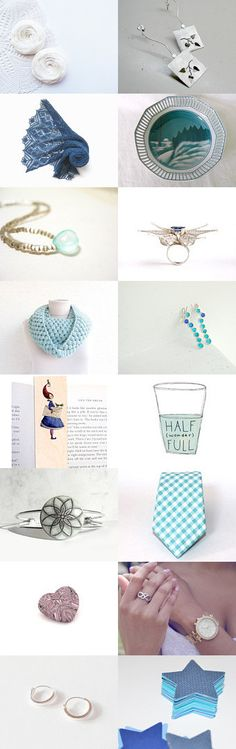 Shades of Blue by Georgia on Etsy--Pinned with TreasuryPin.com