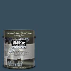 Behr #UL230-23 Restless Sea Interior Semi-Gloss Gallon Paint-375301 - MAN ROOM