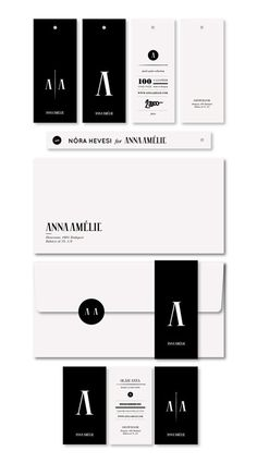 company identity in black and white