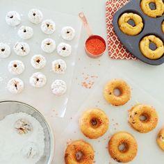 Pumpkin donuts! Jenn