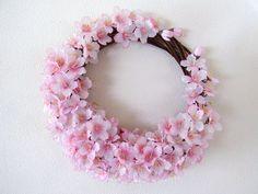 桜のクレッシェンドリース