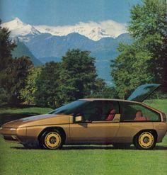 1981 Mazda MX-81 Aria (Bertone)
