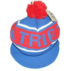 Official New England Patriots ProShop - M+N Throwback Caddy Knit Hat 490507e57
