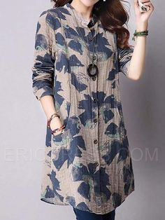 Womens Style Discover Ericdress Print Mid-Length Blouse Lucia Helena Join in the world of pin Tunic Designs Kurta Designs Women Dress Neck Designs Short Kurti Designs Linen Dresses Casual Dresses Fashion Dresses Backless Maxi Dresses Hijab Stile Tunic Designs, Dress Neck Designs, Kurta Designs Women, Stylish Dress Designs, Designs For Dresses, Stylish Dresses, Fashion Dresses, Short Kurti Designs, Casual Dresses