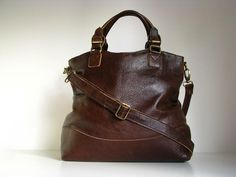 leather handbag tote by the leather store | notonthehighstreet.com