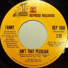 Fanny - Ain't That Peculiar