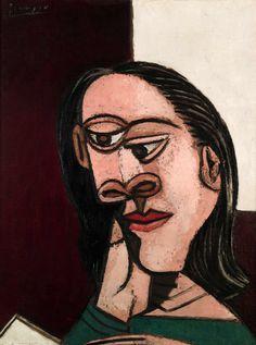 Portrait of Dora Maar, 1937 / by Pablo Picasso http://25.media.tumblr.com/tumblr_m5d64qZSBy1qb0p52o1_1280.jpg