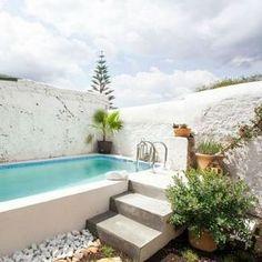 Small Backyard Pools, Small Pools, Swimming Pools Backyard, Pool Landscaping, Mini Pool, Rooftop Pool, Plunge Pool, Dream Pools, Hamptons House