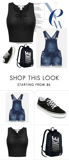 """$103.50"" by dariah3412 on Polyvore featuring Vanilla Star, Vans and NIKE"