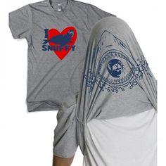 Shark Week I Love Snuffy Flip T-Shirt