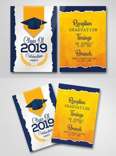Graduation Invitation Wording, Invitation Card Design, Invitation Templates, Halloween Costume Party Invitations, Tea Party Invitations, Graduation Celebration, Branches, Blog, Kindergarten Graduation