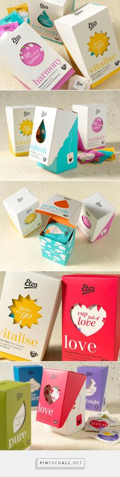 Etos Tea by Milford. Pin curated by #SFields99 #packaging #design