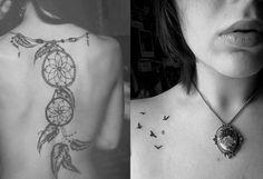 Tatuagem feminina Mini Tattoos, Future Tattoos, Compass Tattoo, Tatoos, Henna, Tatting, Piercings, Hair Makeup, Ink