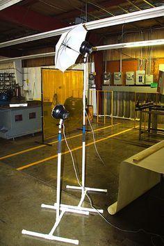 PVC light stands