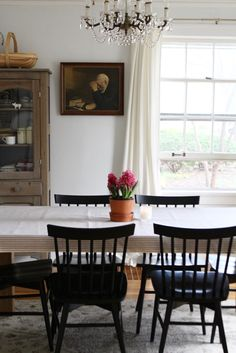 A Simple & Classic Dining Room + Julia Child Forever