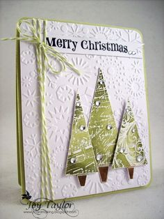 Handmade Christmas Cards Believe Cute Cards, Diy Cards, Holiday Cards, Christmas Cards, Christmas Trees, Merry Christmas, Christmas Decor, Karten Diy, Winter Cards