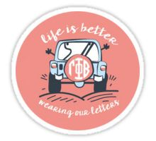 Gamma Phi Beta is Better Sticker