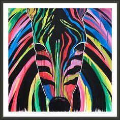 Rainbow Zebra Rainbow Zebra, Tie Dye Skirt
