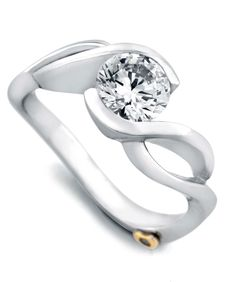 Fire Engagement Ring. www.orinjewelers.com
