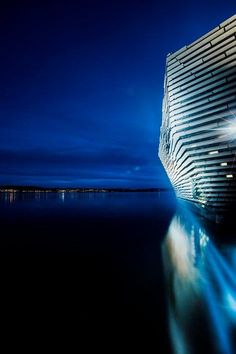 s first design museum is due to open on September 15 2018 designed by Japanese architect Kengo Kuma who first visited the completed construction on News Around The World, Around The Worlds, Dundee City, Kengo Kuma, Uk Images, Urban City, Japanese Architecture, Design Museum, Skyscraper