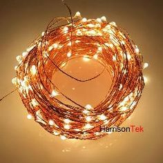 Home & Garden 10pcs 5m 50leds Lights Copper Wire Hanging Lamp Room Mini Decorative Star Lights With Battery Box For Wedding & Engagement Event & Party