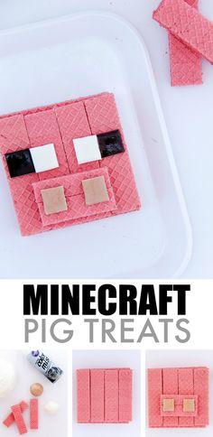 Minecraft Pig Treats