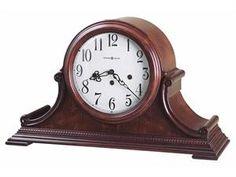 Howard Miller Palmer Tambour-Style Mantel Clock (Key-Wound)