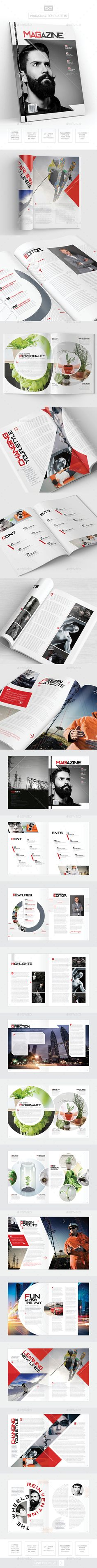 Creative and Minimalist Magazine Template Adobe InDesign INDD | Best ...