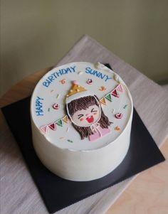 Cake Decorating Frosting, Cake Decorating Designs, Birthday Cake Decorating, Cake Decorating Techniques, Cake Designs, Pretty Birthday Cakes, Pretty Cakes, Cake Templates, Just Cakes