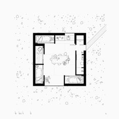 Heima is a series of trekking cabins, designed to be built in remote locations across Iceland. Architecture Drawings, Architecture Plan, Bunker, Small House Plans, House Floor Plans, Piscina Interior, Traditional Japanese House, Residential Architect, Landscape Plans