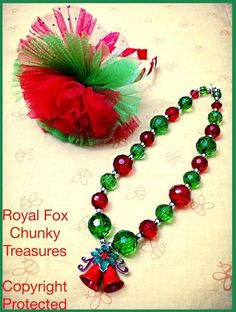 Holiday Cheer Jingle Necklace & Bow Giveaway!