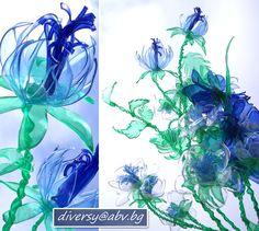 как се правят цветя от пластмасови бутилки