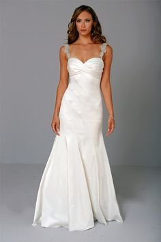 like the overall llnes of the design Pnina Tornai Wedding Dresses Photos on WeddingWire