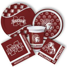 Mississippi State Party Supplies from www.DiscountPartySupplies.com