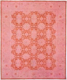 Rugs From Around The World by Jeanine Hays. Eclectic rugs by ABC Carpet