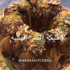 Hanaa Mohamed On Instagram اللي يحب كيكة التمر يرفع يده للمزيد حيااااكم Hanaakitchens Sweets Recipes Dessert Recipes Sweet Desserts