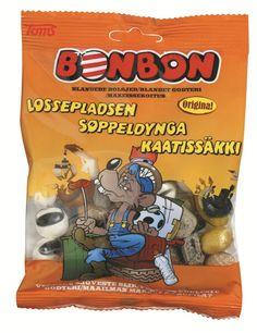 BonBon Kaatissäkki makeispussi 170g, 2,60 e